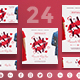 Valentine's Day Party Social Media Pack - GraphicRiver Item for Sale