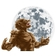 Werewolf Full Moon Scary Horror Monster