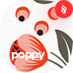 Seamless Patterns Floral Poppy Backgrounds