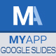 MyApp Google Slides Template - GraphicRiver Item for Sale