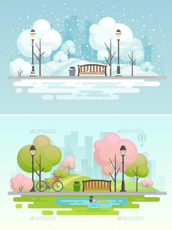 City Park - Seasons Nature