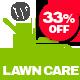 Lawn Care services - WordPress website theme