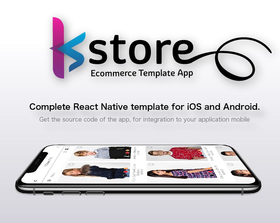 kstore complete react native template for ios and android by positifmobile. Black Bedroom Furniture Sets. Home Design Ideas
