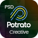 Potrato - Multi-Purpose PSD Template