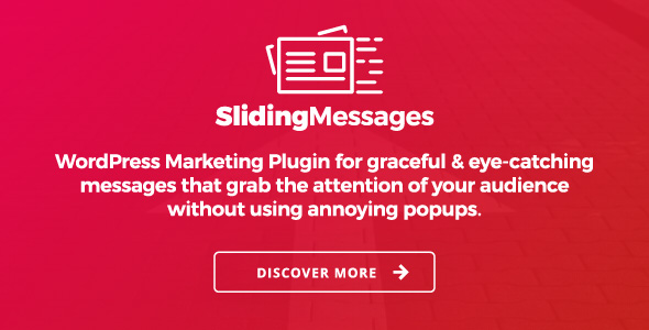 WordPress Marketing Plugin – Sliding Messages - CodeCanyon Item for Sale