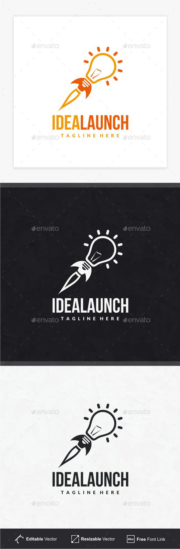 Idea Launch Logo - Objects Logo Templates