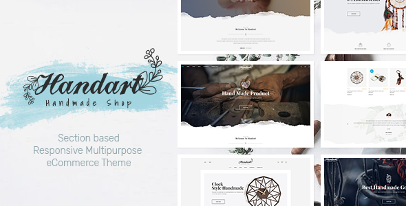 HandArt - Shopify Theme for Artists, Jewelry, ArtWork, Handmade and Artisans