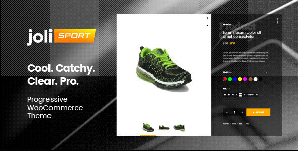 joli-sport – Progressive WooCommerce Theme Free Download