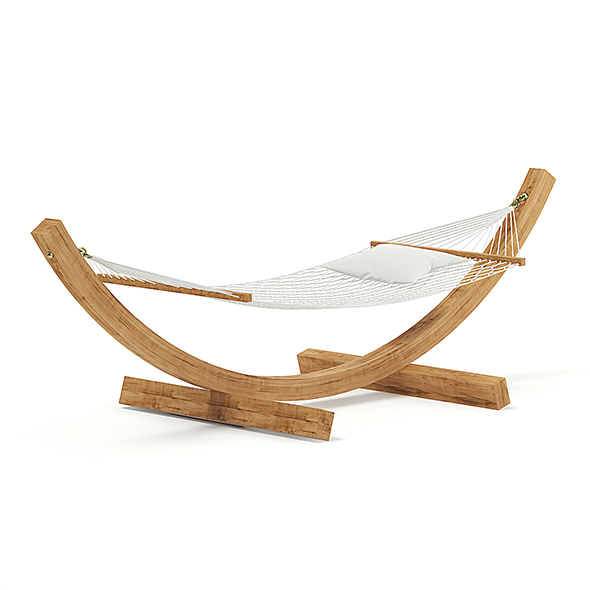Hammock 3D Model - 3DOcean Item for Sale