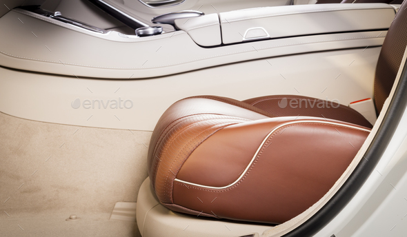 modern car seat  - Stock Photo - Images