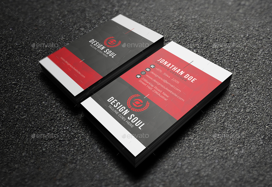 Business Card by designsoul14   GraphicRiver