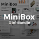 3 in 1 MiniBox Bundle Powerpoint Template