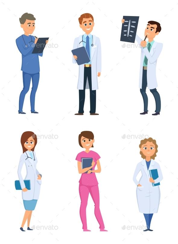 Medic Nurses and Doctors - Health/Medicine Conceptual