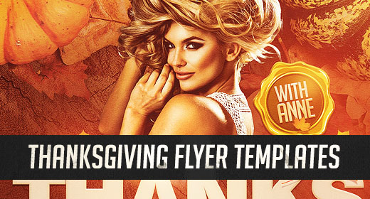 Thanksgiving Flyer Templates