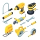 Isometric Tools for Construction - GraphicRiver Item for Sale
