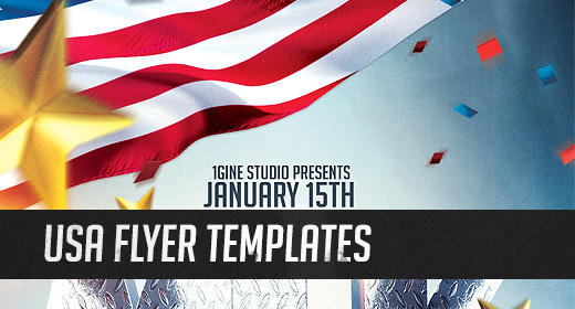 USA Flyer Templates