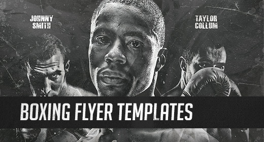 Boxing Flyer Templates