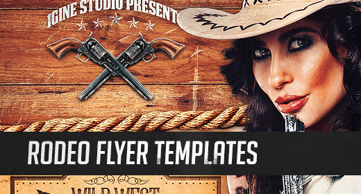 Rodeo Flyer Templates