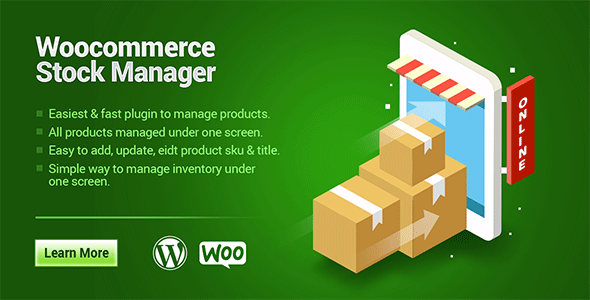 Woocommerce Stock Manager - CodeCanyon Item for Sale