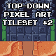 Top-Down Pixel Art Game Tileset #2 - GraphicRiver Item for Sale