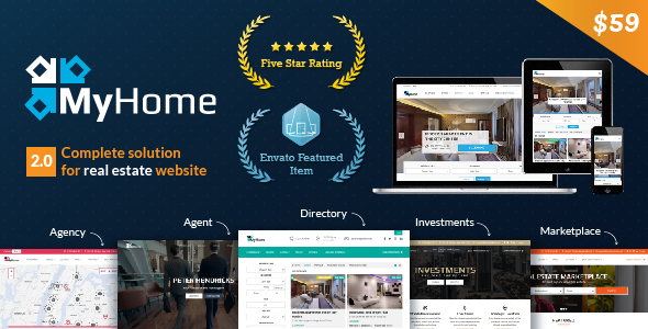 Real Estate WordPress Theme | MyHome