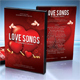 Love Songs DVD Cover Template - GraphicRiver Item for Sale