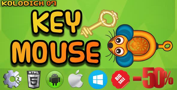CodeCanyon Key Mouse HTML5 Mobile Game Capx 21255449