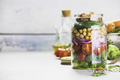 Healthy Homemade Salad in Glass Jar - PhotoDune Item for Sale