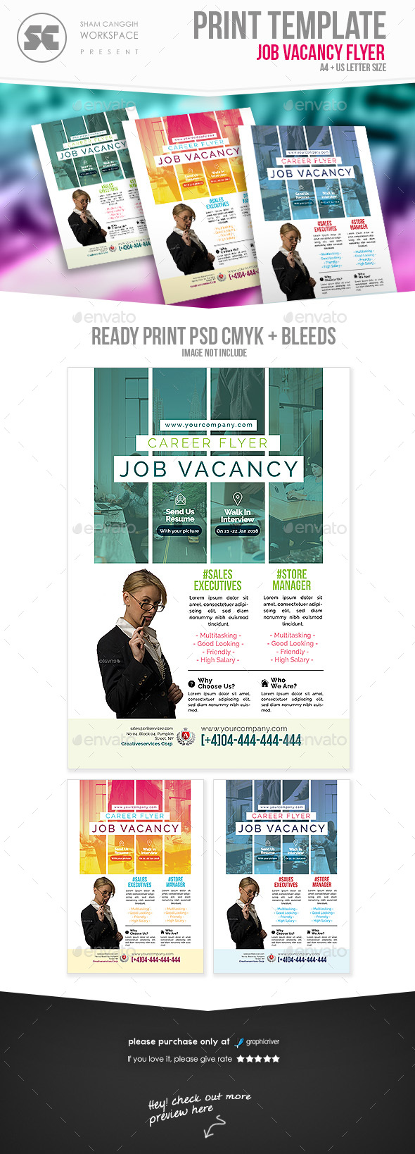 Job Vacancy Flyer - Miscellaneous Events