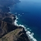 Flight Over Beautiful Mountains Near Ocean Shore - VideoHive Item for Sale