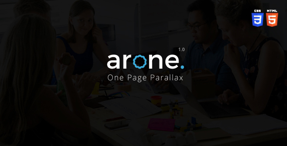 ThemeForest Arone One Page Parallax 21144499