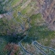 Aerial View Winding Road near Masca Gorge - VideoHive Item for Sale