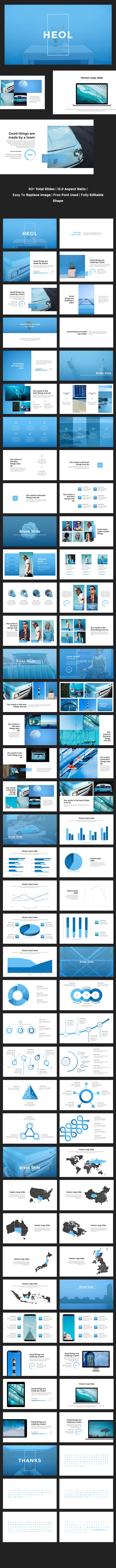 Heol - Creative Keynote Template - Creative Keynote Templates