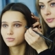 Beautiful Young Woman Apply Makeup - VideoHive Item for Sale