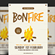 Bonfire Flyer - GraphicRiver Item for Sale
