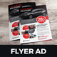 Luxury Car Sale Rental Flyer Ad Design - GraphicRiver Item for Sale