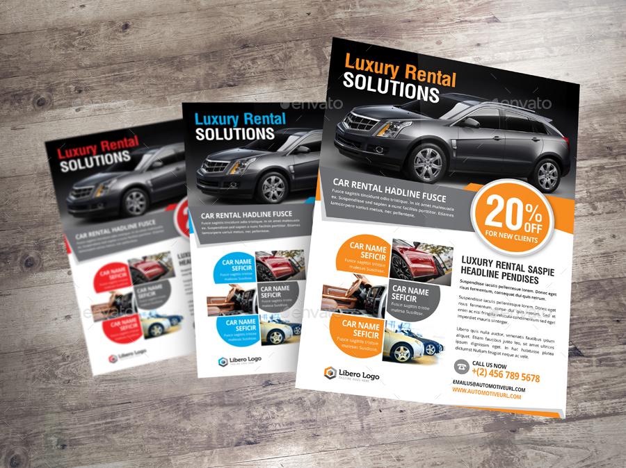 Luxury Car Sale Rental Flyer Ad Design  Car Sale Flyer