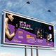 Sports | Fitness | Gym Billboard Template