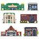 City Public Buildings Collection - GraphicRiver Item for Sale