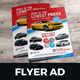 Luxury Car Sale Rental Flyer Ad v2 - GraphicRiver Item for Sale