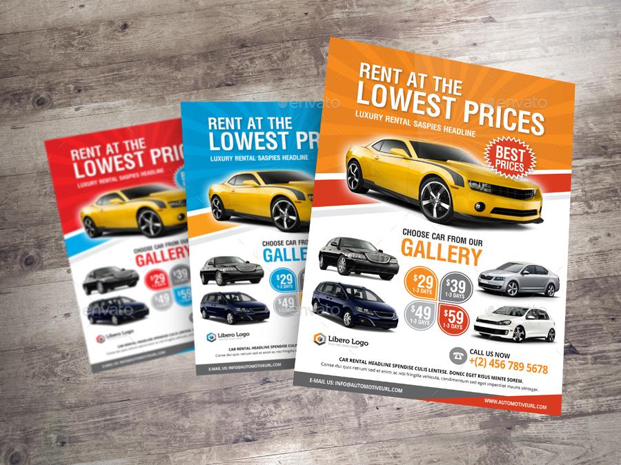 luxury car sale rental flyer ad v2 by jbn comilla graphicriver. Black Bedroom Furniture Sets. Home Design Ideas