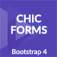 Chic - Bootstrap 4 Forms - CodeCanyon Item for Sale