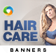 Hair Care Banner Set - GraphicRiver Item for Sale