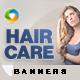 Hair Care Banner Set