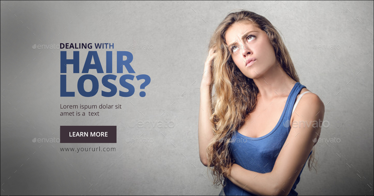 Hair Care Banner Set By Hyov Graphicriver