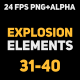 Liquid Elements Explosions 31-40 - VideoHive Item for Sale