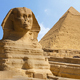 Sphinx Giza. Egypt Against The Blue Sky - VideoHive Item for Sale