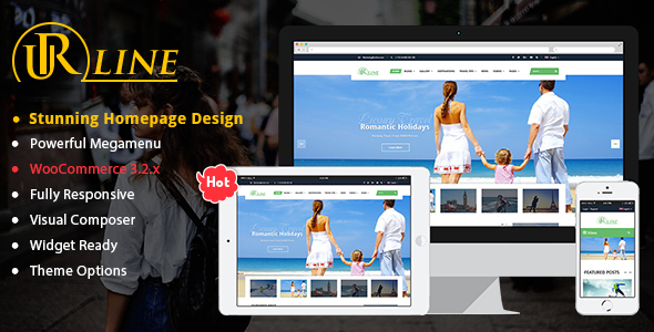Urline - Creative WordPress Travel News And Magazine Theme