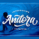 Andora Typeface - GraphicRiver Item for Sale