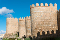 The medieval city wall of Avila - PhotoDune Item for Sale